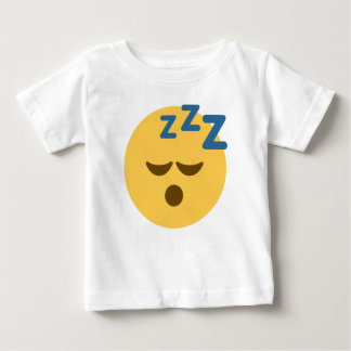 Sleepy Emoji Baby T-Shirt