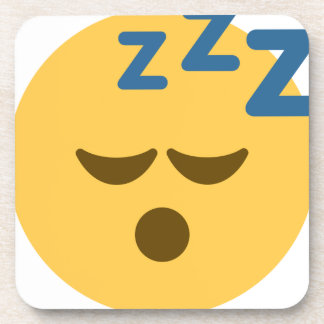 Sleepy Emoji Drink Coaster