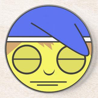 Sleepy Face Coaster