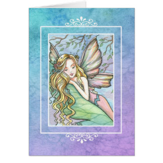 Sleepy Fairy Greeting Card