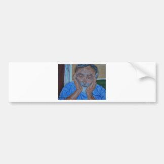 Sleepy Grandpa Bumper Sticker