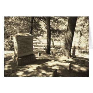 Sleepy Hollow Cemetery, Concord, MA Card