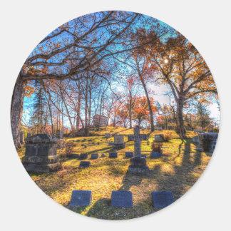Sleepy Hollow Cemetery New York Classic Round Sticker