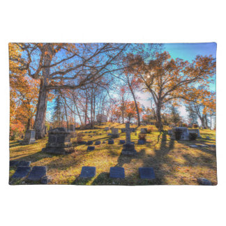 Sleepy Hollow Cemetery New York Placemat