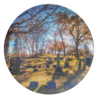 Sleepy Hollow Cemetery New York Plate