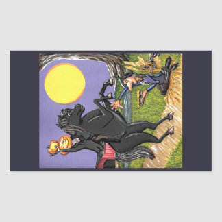 Sleepy Hollow Exhchange Horseman Ichabod sticker