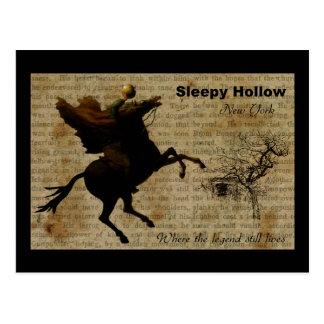 Sleepy Hollow Headless horseman 2 Postcard