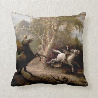 Sleepy Hollow Headless Horseman Pillow