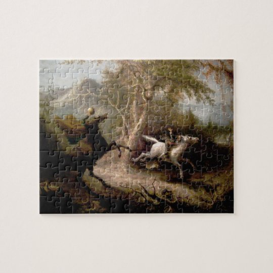 Sleepy Hollow Headless Horseman Puzzle