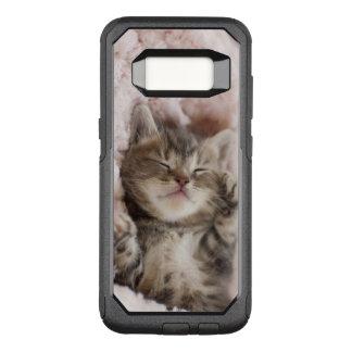 Sleepy Kitten OtterBox Commuter Samsung Galaxy S8 Case