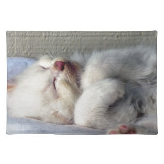 Sleepy Kitten Placemat