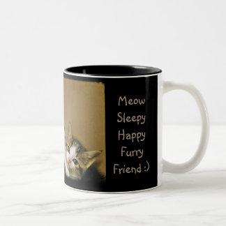 Sleepy Kittens Mug