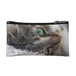 Sleepy Kitty Cosmetic Bag