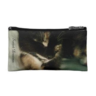 Sleepy Kitty Multi-purpose Bag Makeup Bag