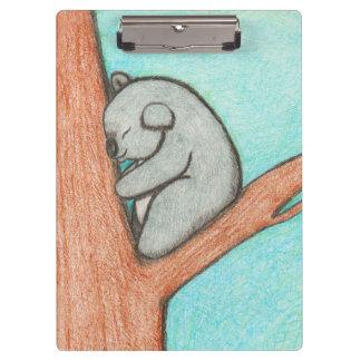 Sleepy Koala Clipboard