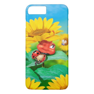 Sleepy Ladybug iPhone 7 case