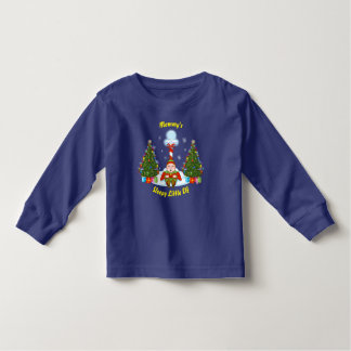 Sleepy Little Elf Toddler Long Sleeve T-Shirt