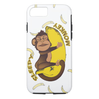 Sleepy MONKEY iPhone 8/7 Case