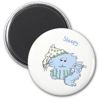 Sleepy Mood Magnet