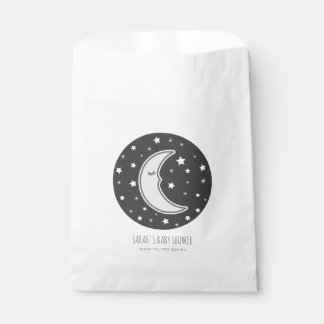 Sleepy Moon Baby shower Favour Bags