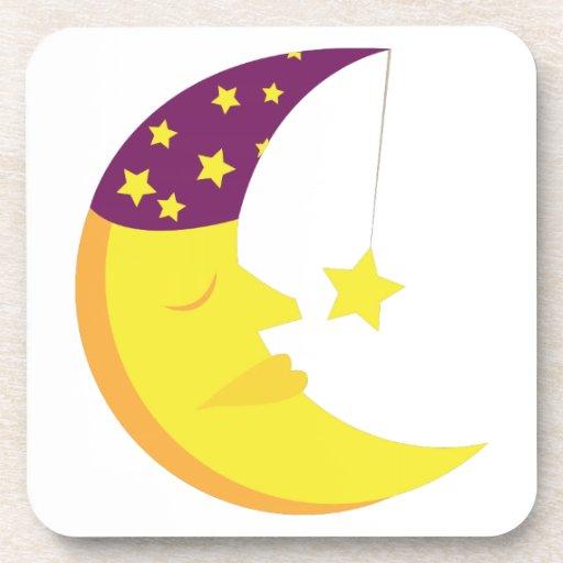 Sleepy Moon Coaster