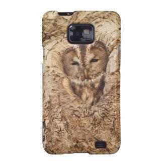 Sleepy Owl Collection Samsung Galaxy SII Cover