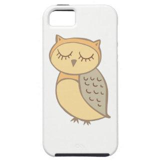 Sleepy Owl iPhone 5 Cover