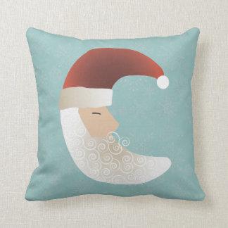 Sleepy Santa Half Moon Christmas Bendel Cushion