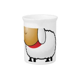 sleepy sheep pitcher