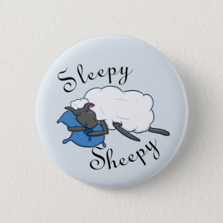 Sleepy Sheepy Button