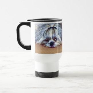 Sleepy Shih Tzu Dog Mugs