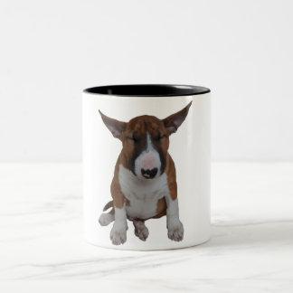Sleepy Smeagol Bull Terrier Puppy Coffee Mug