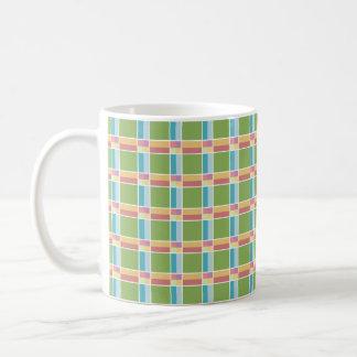 Sleepy Squares Coffee Mug