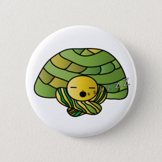 Sleepy Turtle Button