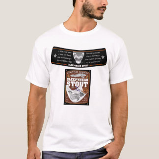 Sleepyhead Stout label T-Shirt