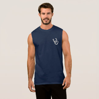 Sleeveless Conversations  HorseShoe Pitching Tee