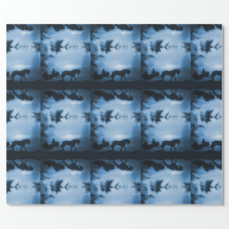 Sleigh and Horse Wrapping Paper