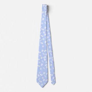 Sleigh Blue Tie
