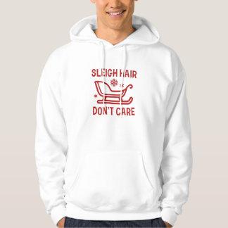 Sleigh Hair Don't Care Hoodie