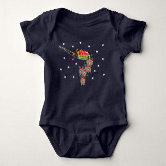 Sleigh Ride Baby Bodysuit