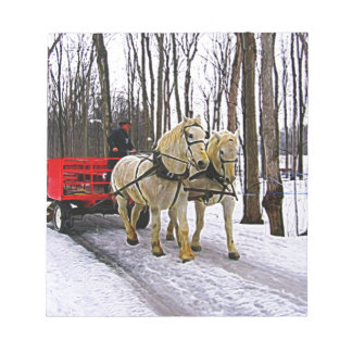 Sleigh Ride in the Snow Collection Notepad