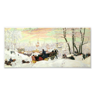 Sleigh Ride Painting Photo