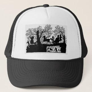 Sleigh_Ride_Silhouette Trucker Hat
