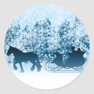 Sleigh Ride Stickers
