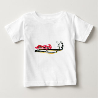 Sleigh Sport Watercolor Baby T-Shirt