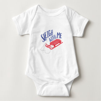Sleigh With Me Baby Bodysuit