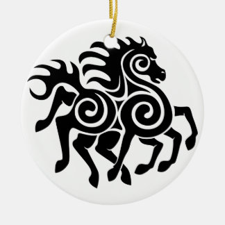 Sleipnir by Mike Craghead Ceramic Ornament