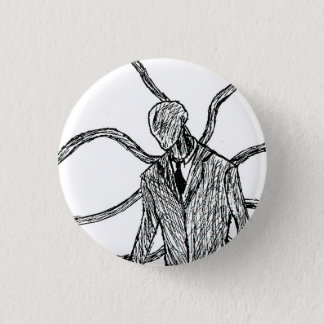 Slender-Creep 3 Cm Round Badge