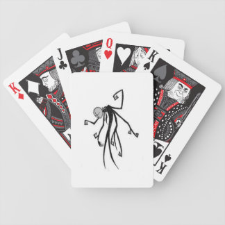 slender deck bicycle playing cards
