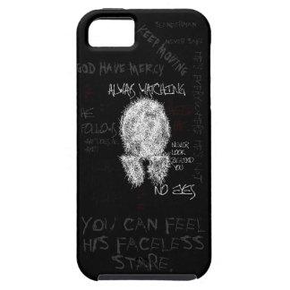 "Slenderman ""Insane Scribble"" iPhone 5 Case"